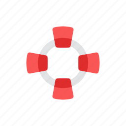 buoy, help, life, rescue, support icon