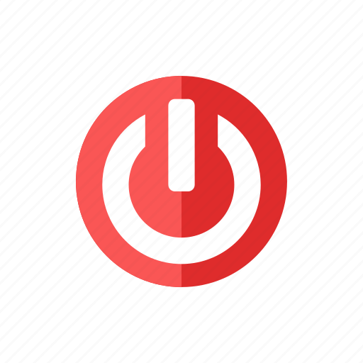 power, shut down icon