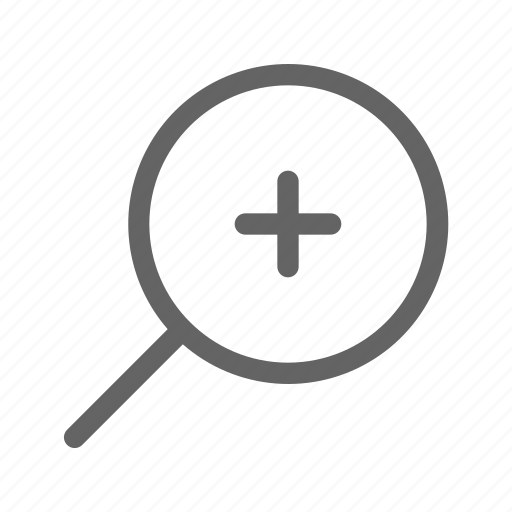 In, magnifier, zoom, loupe icon - Download on Iconfinder