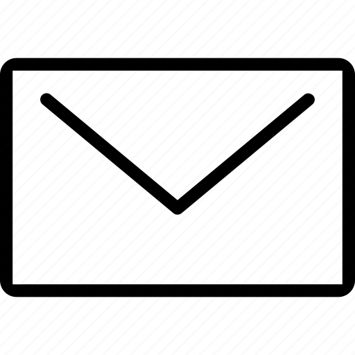 email, envelope, interface, mail, web icon