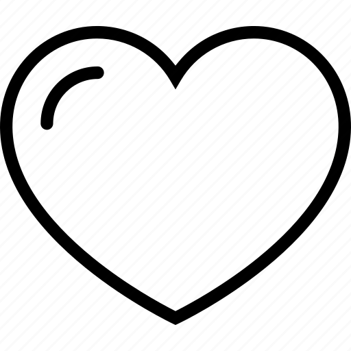 favorite, heart, interface, web icon