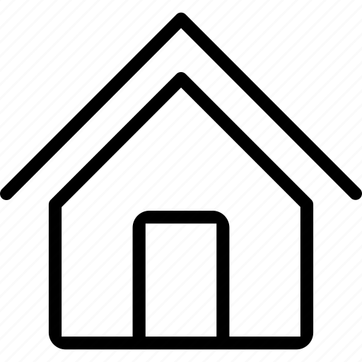 home, house, interface, web icon