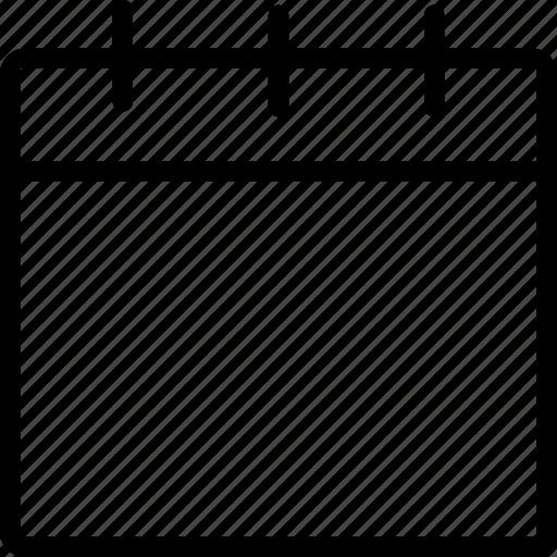 calendar, date, interface, web icon