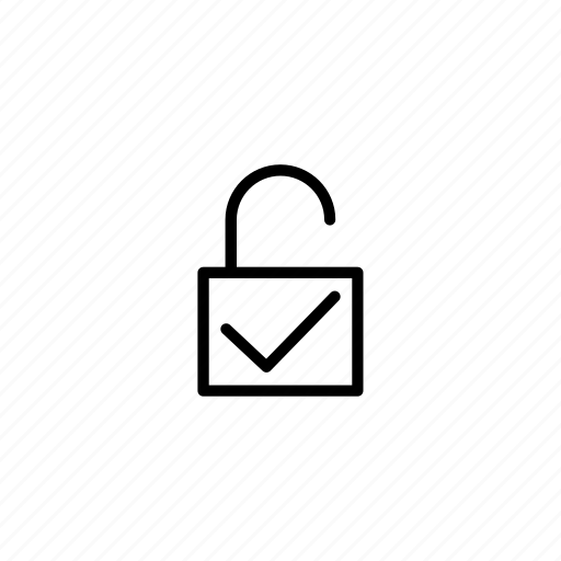 arrow, basic, lock, slider, unlock, user interface icon