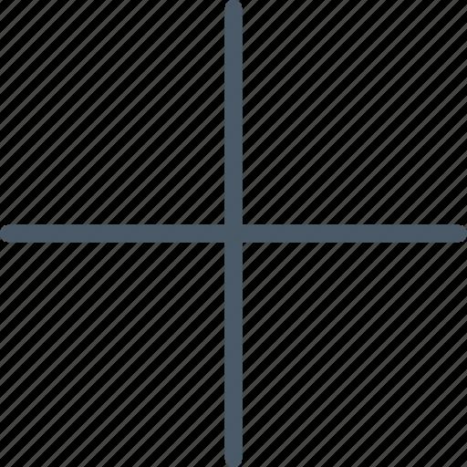 interface, mathematics, plus, web icon