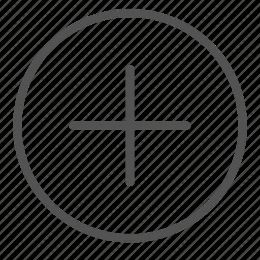 add, circle, plus, shape, sign icon