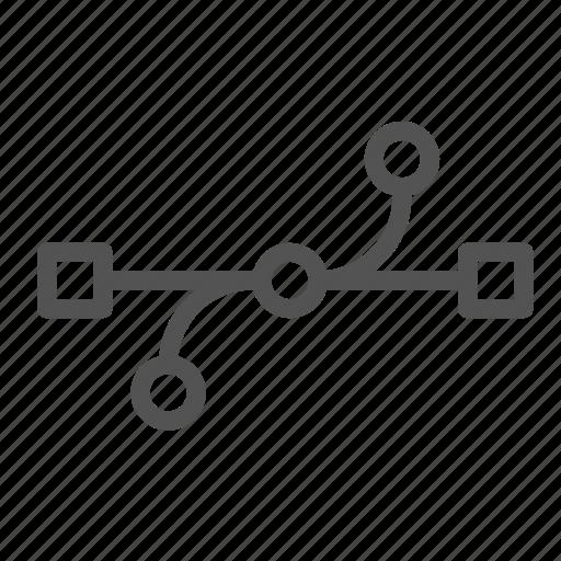 edit, line, tool, warp icon