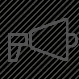 alert, announcement, megaphone icon