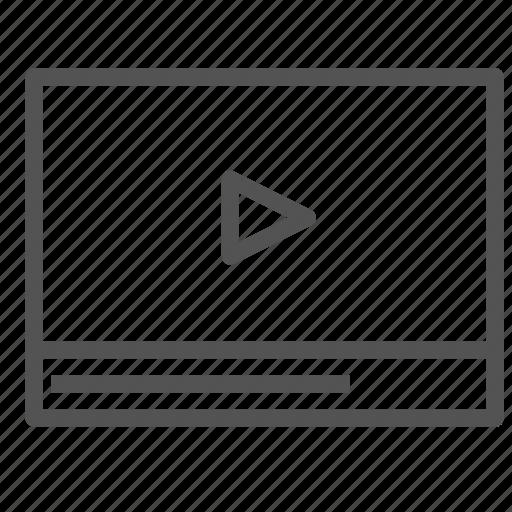 frame, media, multimedia, play, video icon