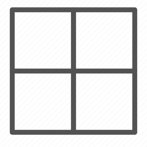 browser, partition, square, website icon