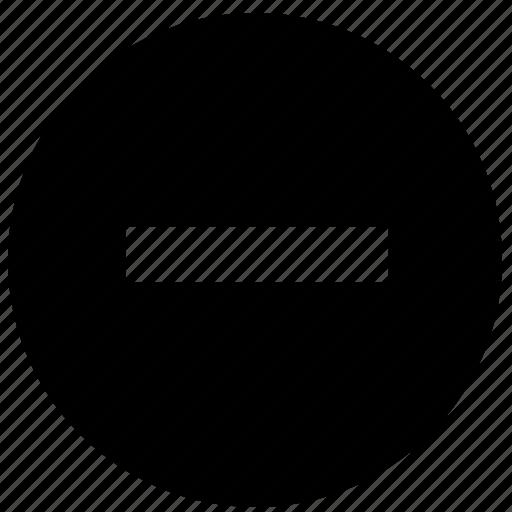 block, cancel, no, prevent, stop icon