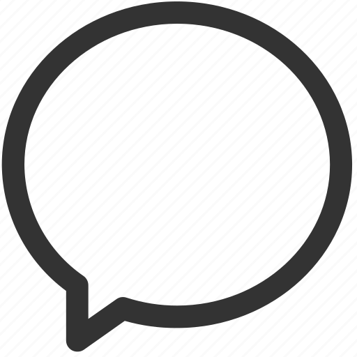 communication, messaging, round, shadies, ui, ux icon