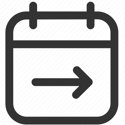 agenda, calendar, communication, events, schedule, ui, upcoming icon