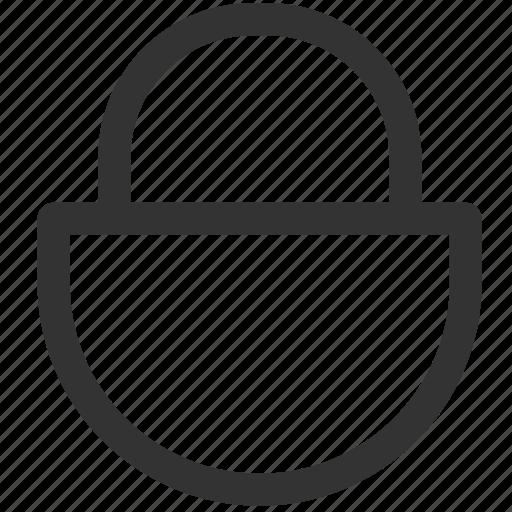 lock, locked, padlock, password, protected, secure, ux icon