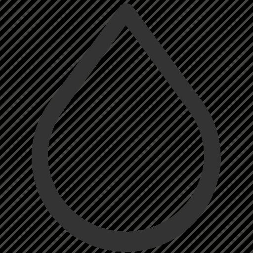 drop, elements, liquid, melting, rain, tears, water icon