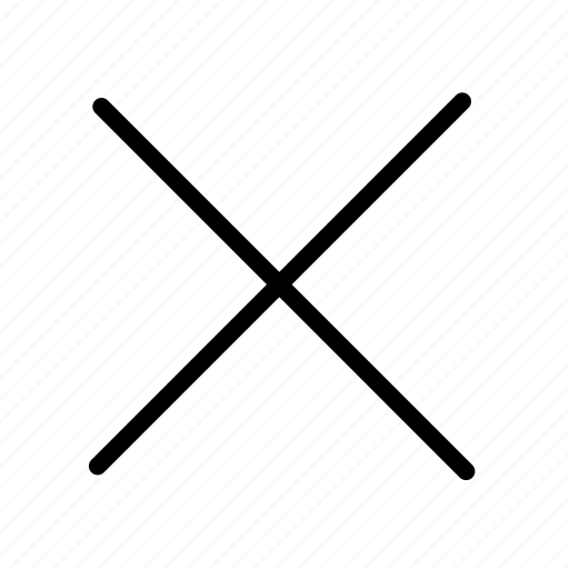 Cancel, close, remove, delete, exit, trash icon - Download on Iconfinder