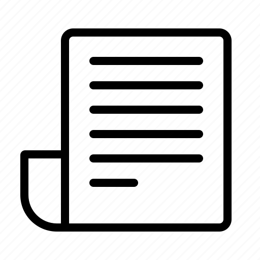 blog, document, manuscript, notes, write icon