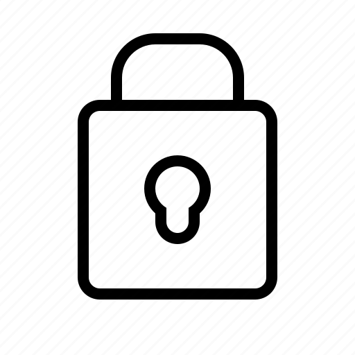 lock, padlock, password, protection, safety, secure, security icon