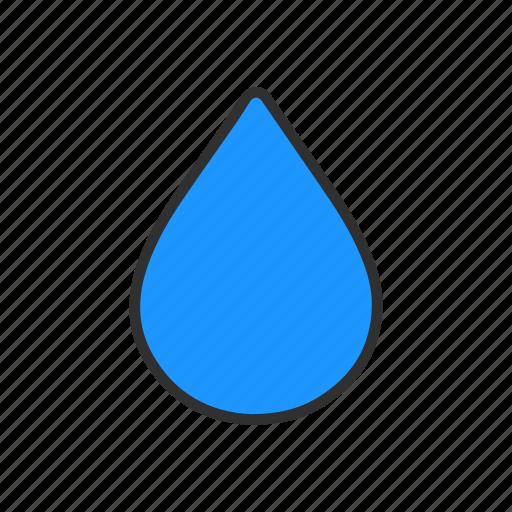 blur, photoshop blur tool, teardrop tool, water drop icon