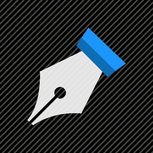 anchor, draw, pen, pen tool icon