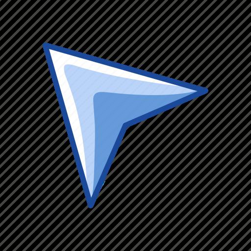 arrow, arrow head, pointer, selection tool icon