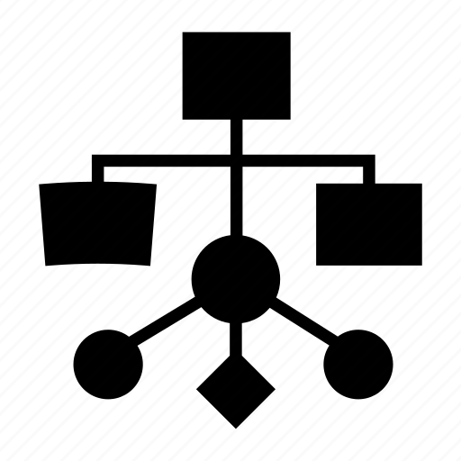 algorithm, flow, flow diagram, flux, flux process, process, workflow chart icon