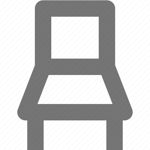 chair, home, house, kitchen, room, seat, stool icon