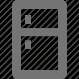 electronics, food, fridge, home, house, kitchen, refrigerator icon