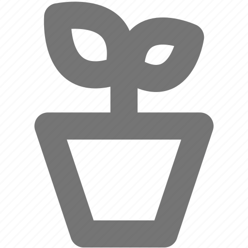 ecology, flowerpot, home, house, plant, pot, sprout icon