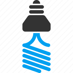 bulb, electric, electricity, energy, lamp, light, saving icon