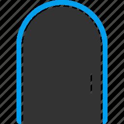 close, door, doorway, entrance, entry, exit, login icon