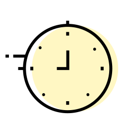 clock, decoration, interior, time icon