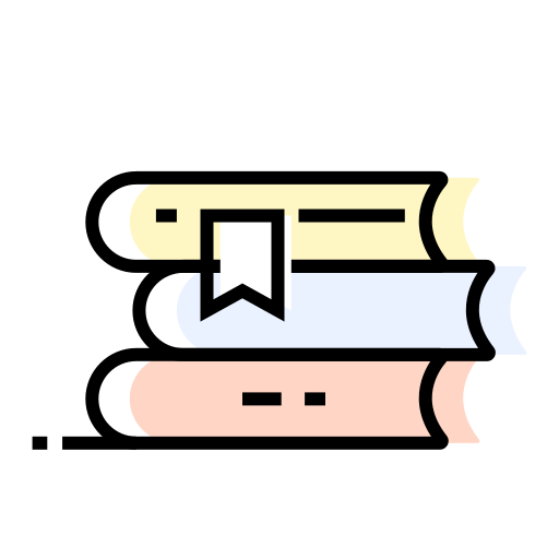 book, books, decoration, interior icon