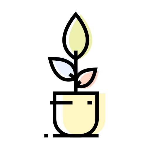 decoration, flowerpot, interior, plant icon