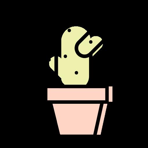 cactus, flowerpot, interior, plant icon
