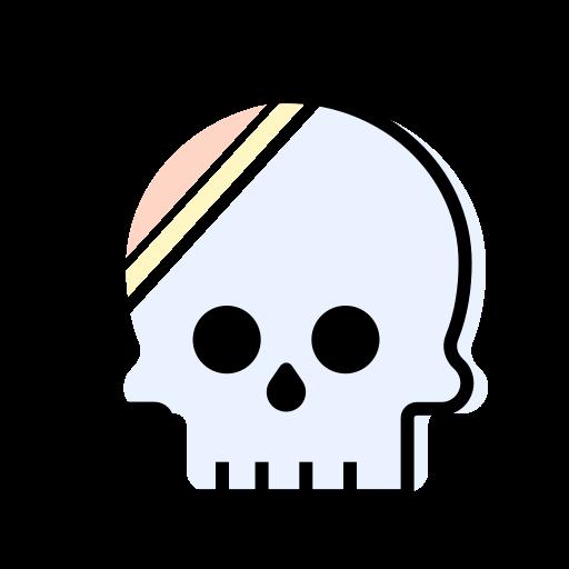 decoration, figure, interior, skull icon