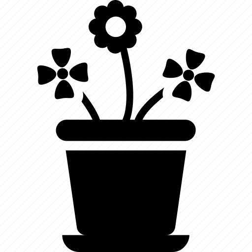 daisy, flowering plant, houseplant, indoor plants, potted plant icon