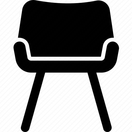 bedroom chair, dining chair, living room furniture, office chair, soft chair icon