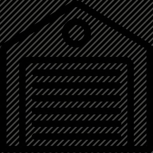car, garage, home, house, parking, storage icon icon