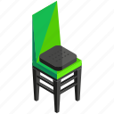 chair, decor, furnishings, furniture, interior, seat icon