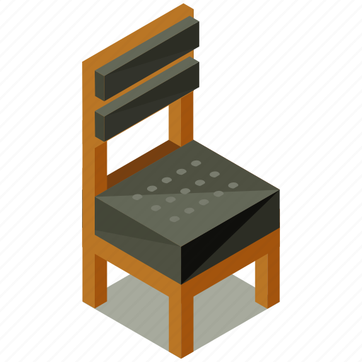 chair, decor, dining, furnishings, furniture, interior icon