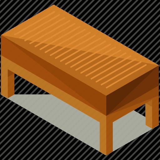 Decor, endtable, furnishings, furniture, interior, long, wooden icon - Download on Iconfinder