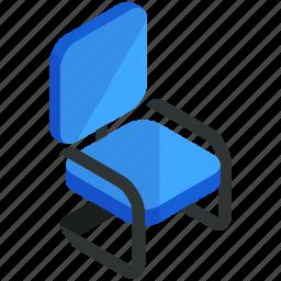 chair, decor, desk, furnishings, furniture, interior, office icon