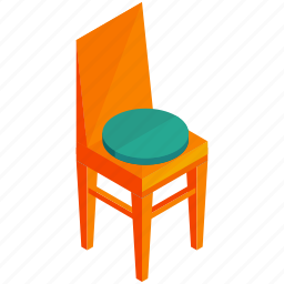 chair, decor, furnishings, furniture, interior icon
