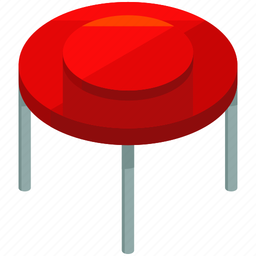 decor, furnishings, furniture, interior, round, table icon