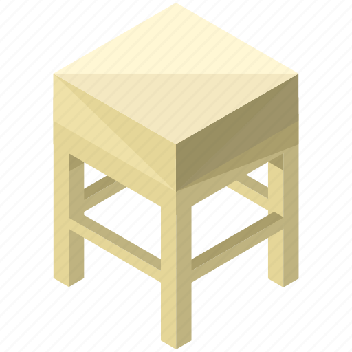 decor, furnishings, furniture, interior, small, table icon