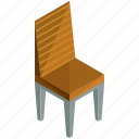 chair, decor, dining, diningroom, furnishings, interior, wooden icon