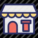 building, cafe, diner, dining, restaurant icon