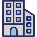 building, home, residence, residential, townhouse icon