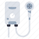 boiler, electric, energy, heater, home, hot, water icon